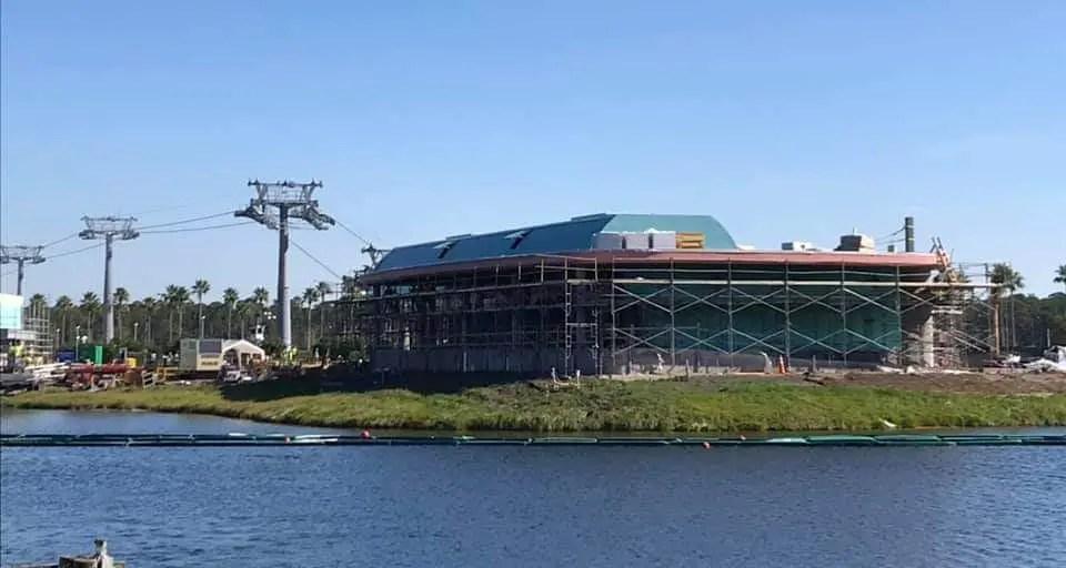 Disney Skyliner Construction is Progressing Nicely