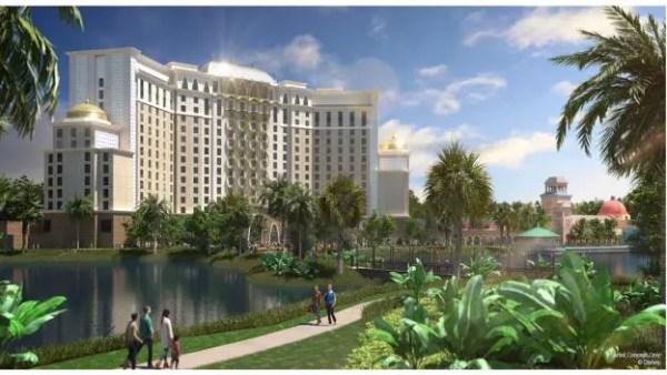 Gran Destino Tower at Disney's Coronado Springs Resort to Open in July 1