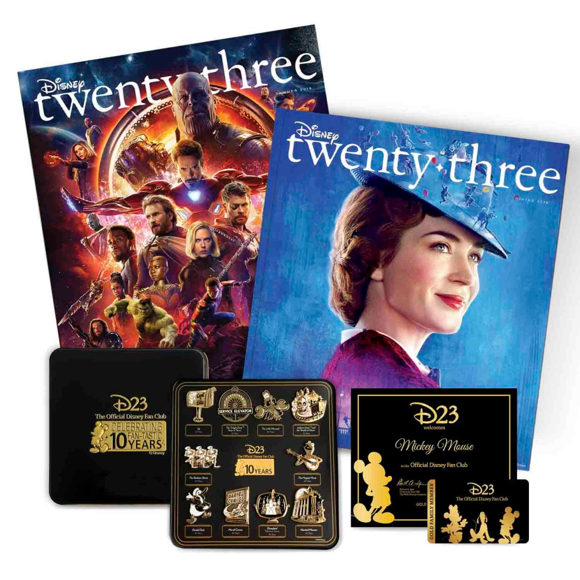 Check Out The D23 2019 Gold Member Gift In Honor Of The 10th anniversary