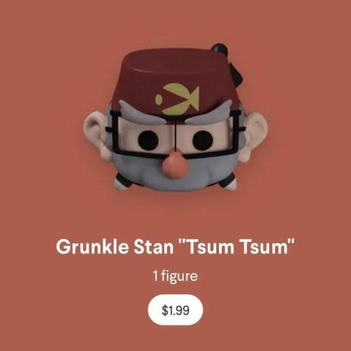 New Virtual Gravity Falls Tsum Tsum On Quidd App 3