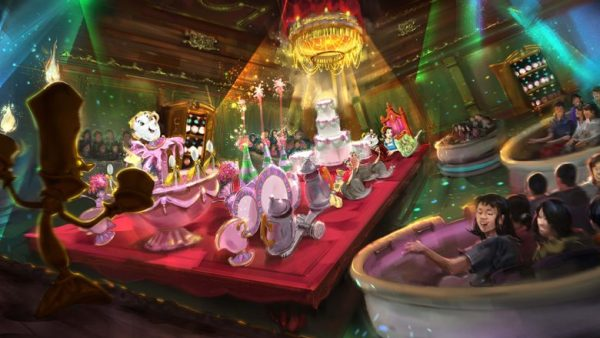 Tokyo Disneyland Photos and Video of Enchanted Tales of Beauty and the Beast 1