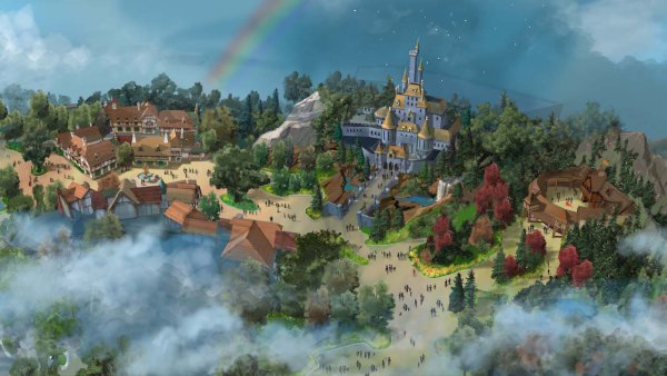 Tokyo Disneyland Photos and Video of Enchanted Tales of Beauty and the Beast 2