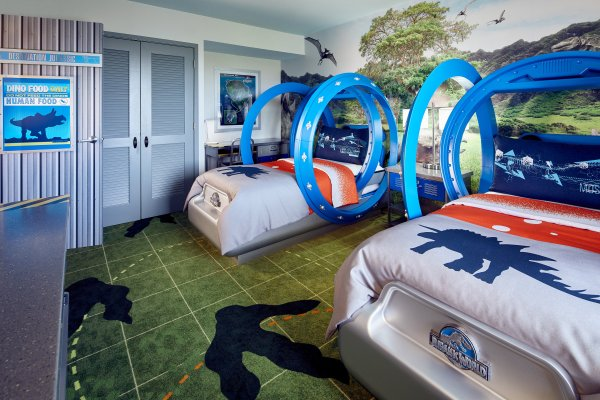 The New Kid's Suites at Universal Orlando Will Have You Checking Closets for Velociraptors