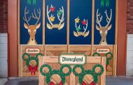 New Holiday Walls in Downtown Disney