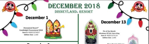Disneyland Resort's December 2018 Pin Releases Have Us Ready To Do Some Trading 1