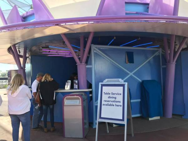 Walk-up Reservations Are Helping Epcot Guests Get The Most Out of Dining Options