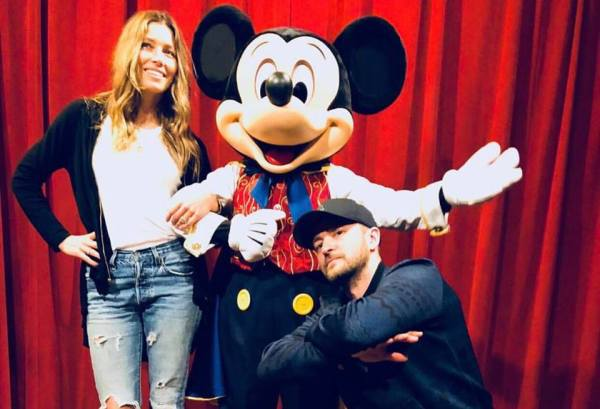 Justin Timberlake Visited the Magic Kingdom
