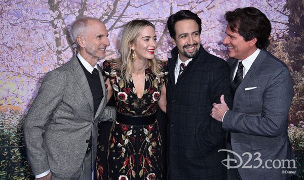 'Mary Poppins Returns' Cast and Crew Celebrate the Film All Over the Globe