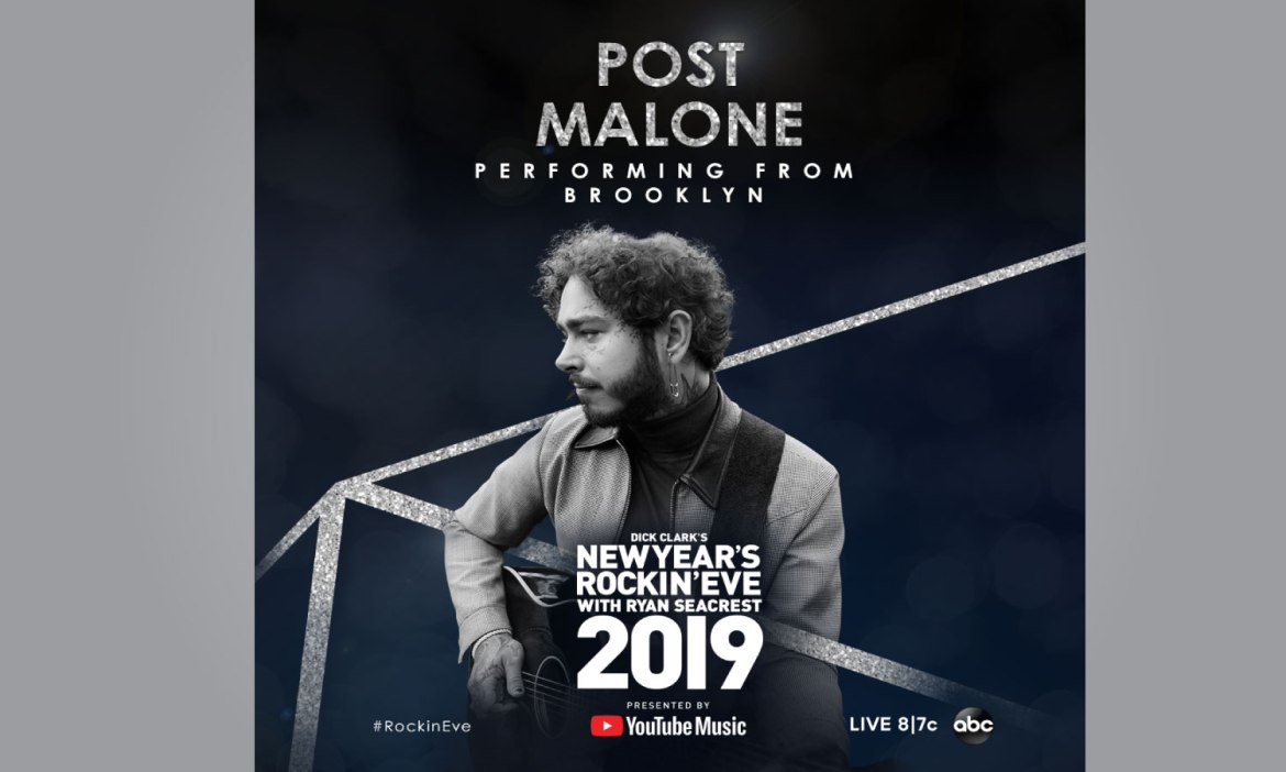 Post Malone to Perform on New Year's Rockin' Eve with Ryan Seacrest