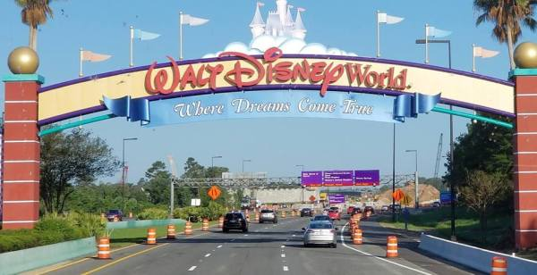 Walt Disney World Property Road Closures