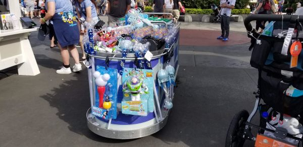 Tomorrowland Pin Cart