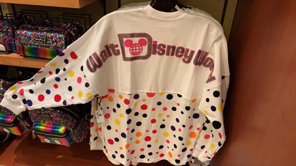 Check Out The Colorful Rock The Dots Spirit Jersey
