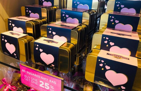 Valentine's Day Sweets at Ghirardelli