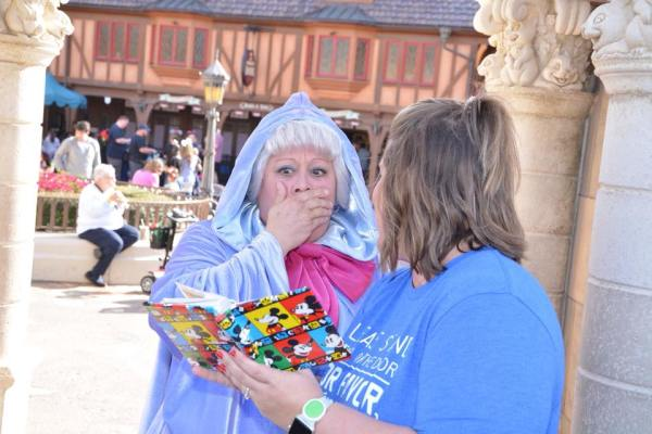 Guest Creates Magic for Her Favorite Childhood Cast Member