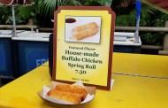New Buffalo Chicken Spring Rolls in Adventureland at the Magic Kingdom