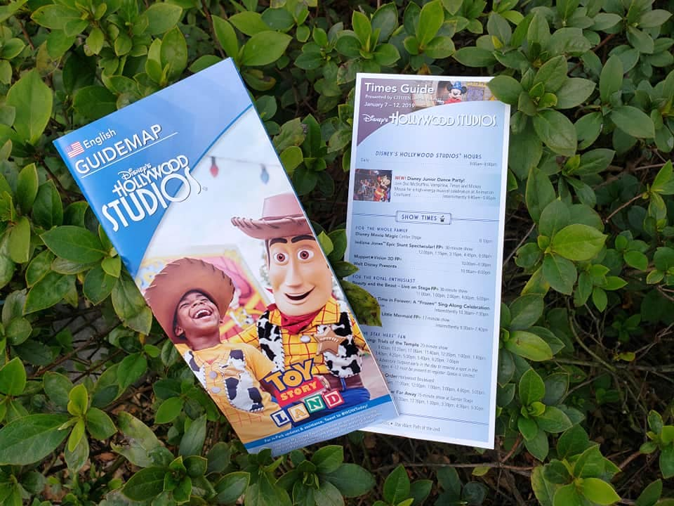 New Park Maps Debut at Hollywood Studios