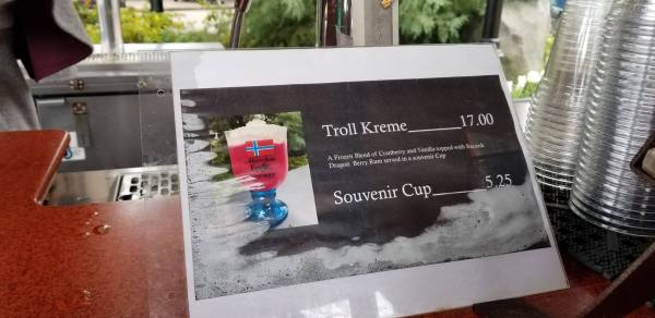 New Troll Kreme Slush now Available in Norway 1
