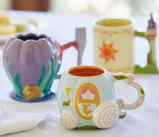 Princess Sculpted Mugs Are A Stylish Way To Start Your Morning