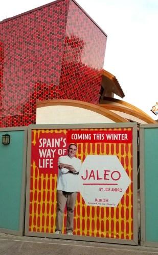 New Construction Progress for Jaleo at Disney Springs 1