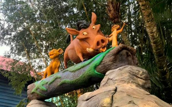 New Lion King Photo Opportunity at Animal Kingdom