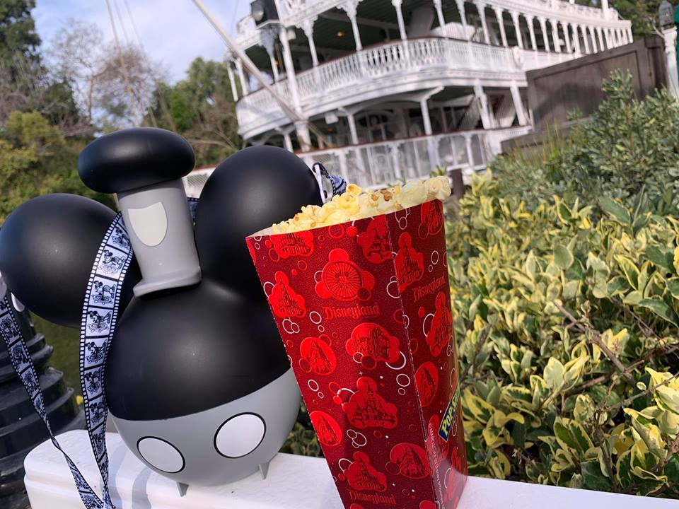 Steamboat Willie Balloon Popcorn Bucket For Annual Passholders