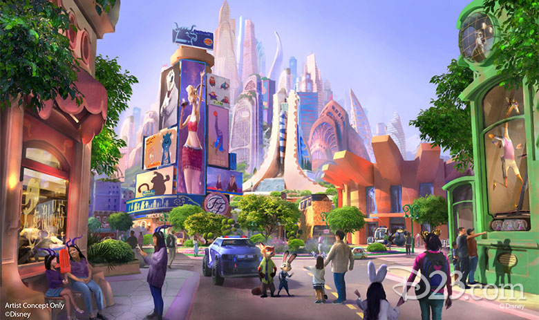 Zootopia-Themed Expansion Headed to Shanghai Disneyland