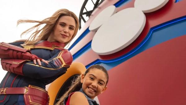 Captain Marvel Lands Aboard Disney Cruise Line 3