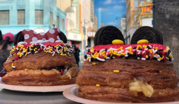 Mickey and Minnie Cronuts are Now Available at Disneyland