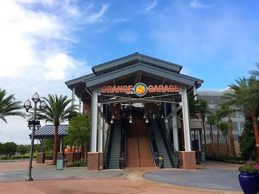 Third Parking Garage At Disney Springs To Be Named 'Grapefruit Garage'