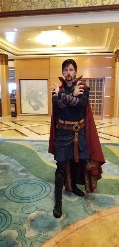 Abundant Number Of Superheroes Spotted At Marvel Day At Sea 5