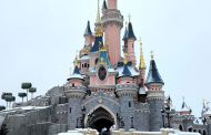 Snow at Disneyland Paris!