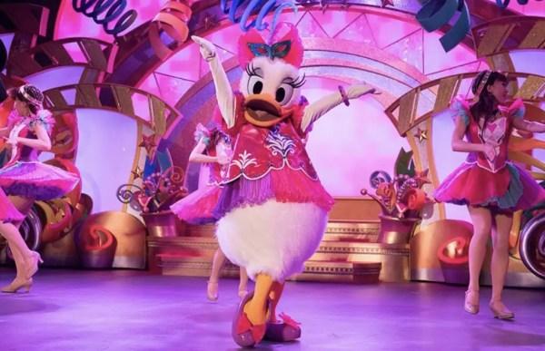 Tokyo Disneyland Celebrates Daisy Duck at Let's Party Gras