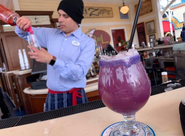 New Purple Potion Drink From Lamplight Lounge 1
