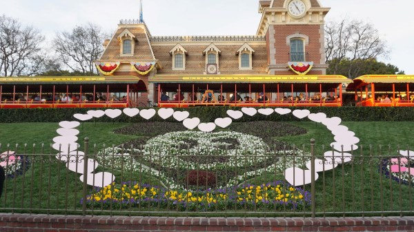 Love is in the Air for Valentines Day at Disneyland