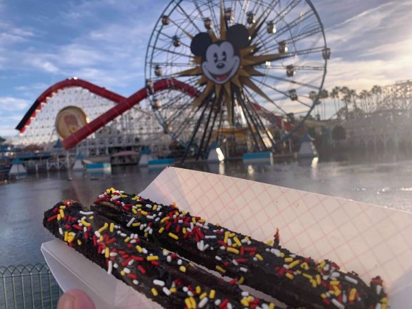 Chow Down on Disneyland's New Chocolate Churro