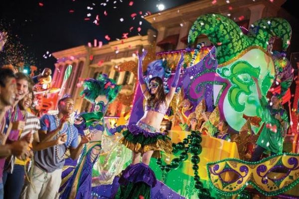 Mardi Gras as Universal Orlando Starts This Weekend