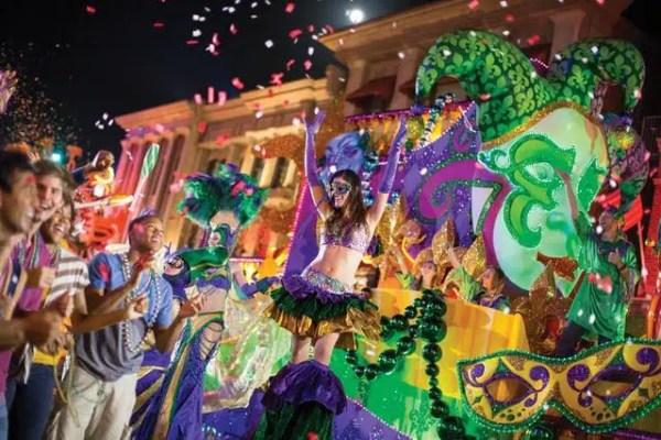 Mardi Gras as Universal Orlando Starts This Weekend