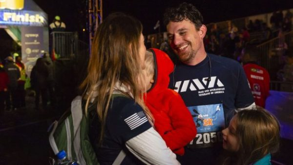 Army Vet Uses Tragedy to Complete Walt Disney World 5K