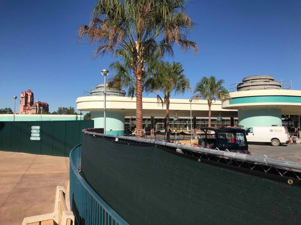 Update on Hollywood Studios Bus Stop Construction 2