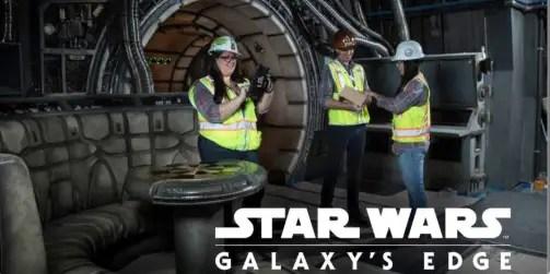 NEW Ride Photos Star Wars: Galaxy's Edge