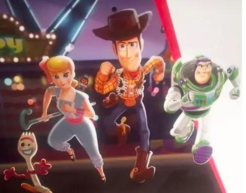 New Sneak Peek at Toy Story 4