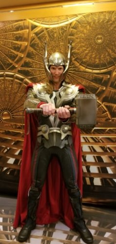 Abundant Number Of Superheroes Spotted At Marvel Day At Sea 3