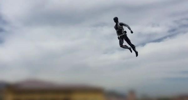 Disney Robot Stunt Double