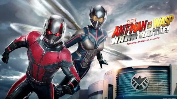 Ant-Man and The Wasp: Nano Battle! Debuts March 31st at Hong Kong Disneyland