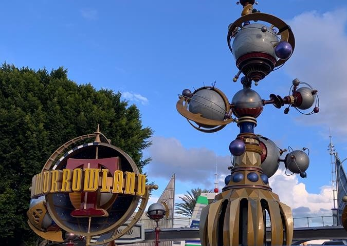 Astro Orbitor at Disneyland is Closed for Refurbishment.