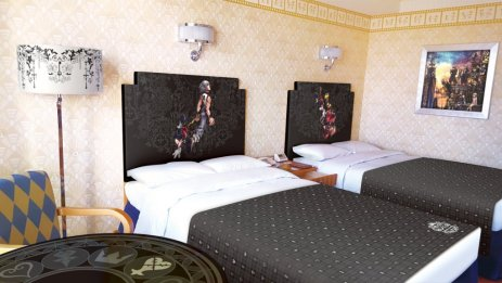 Kingdom Hearts Rooms Announced for Tokyo Disney Resort