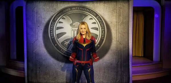 Captain Marvel Lands Aboard Disney Cruise