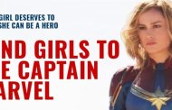 Help the Girls go See Captain Marvel