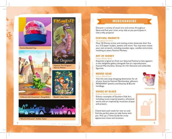 2019 Epcot International Festival of the Arts Passport Released 4