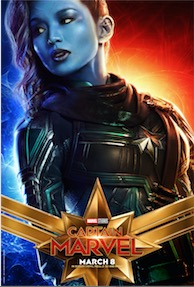 CAPTAIN MARVEL Movie Posters